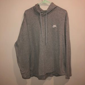 Nike Hoodie Lightweight Gray